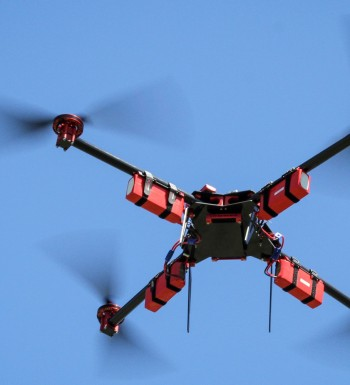 Manufacture And Testing Of Aerial Drones At SteadiDrone Ltd. Headquarters